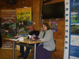 The Author Reads An Extract From the Book In The Company of Jamie, 21st Lord Sempill (Copyright James Dunlop 2013)